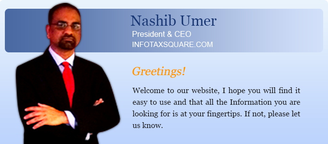 InfoTaxSquare.com - Message From the CEO